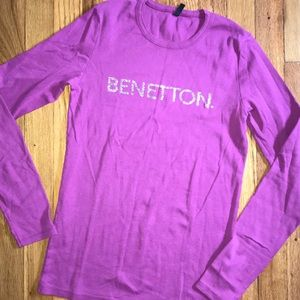 United colors of Benetton long sleeve T-shirt